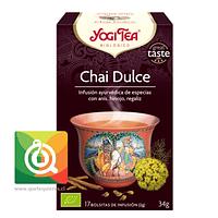 Yogi Tea Infusión Orgánica Chai Dulce