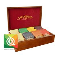 Twinings Caja de Madera 8 divisiones - 80 bolsitas