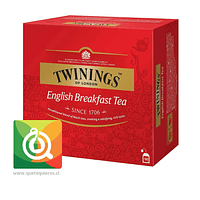 Twinings Té Negro English Breakfast 50 x 2 gr