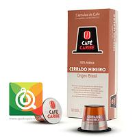 Capsula Café Cerrado Mineiro Origen Brasil 10 unidades