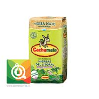 Cachamate Yerba Mate con Hierbas del Litoral y Lemon Grass