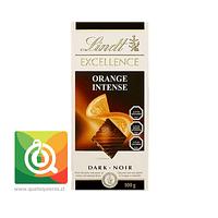 Lindt Chocolate Barra Intenso Naranja