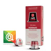 Capsula Café Moderado Descafeinado 10 unidades
