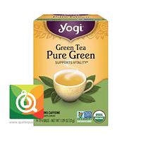 Yogi Té Verde Puro Orgánico
