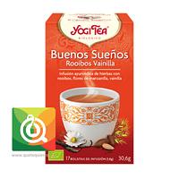 Yogi Tea Infusión Orgánica Buenos Sueños - Rooibos Vainilla