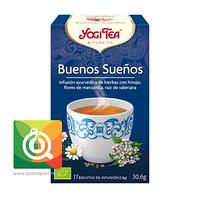 Yogi Tea Infusión Orgánica Buenos Sueños