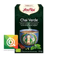 Yogi Tea Té Verde Chai Orgánico