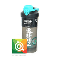 Keep Botella Shaker 700 Celeste