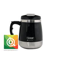 Keep Mug Taza Outdoor 400 ml Negra