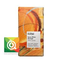 Vivani Chocolate Orgánico Naranja 70% Cacao / Vegano