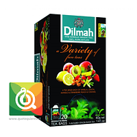 Dilmah Té Variety of fun teas 20 x 2 gr