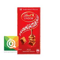 Lindt Chocolate Barra Lindor Leche 100 gr