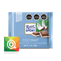 Ritter Sport Chocolate Coconut