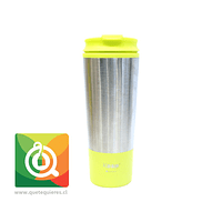 Keep Mug Metálico 450 ml Amarillo
