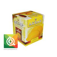 Akbar Té Negro Limón