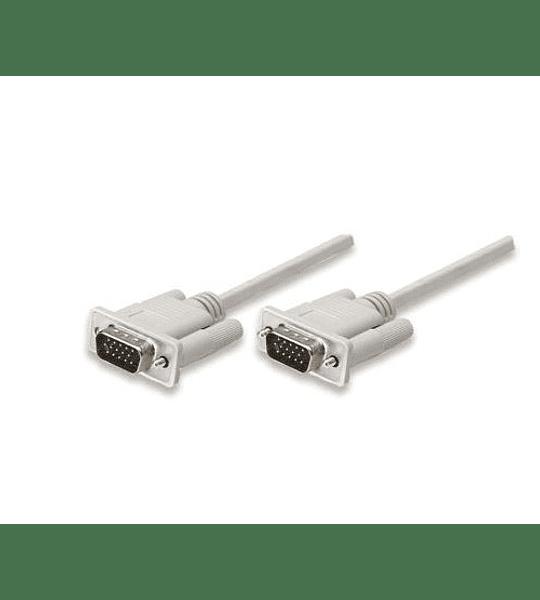 CABLE MON VGA M-M 1.8MT TWC
