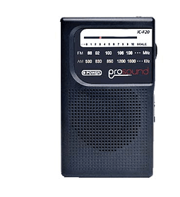 RADIO PROSOUND PORTATIL AM/FM