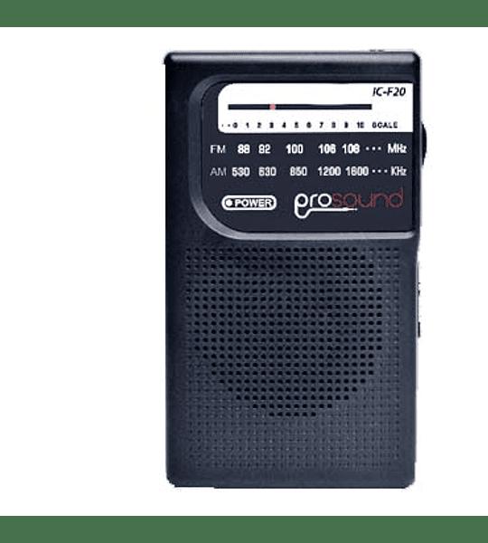 RADIO PROSOUND PORTATIL AM/FM