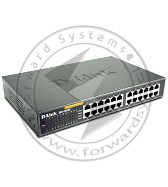 SWITCH D-LINK 24 BOCAS 10/100 1024D