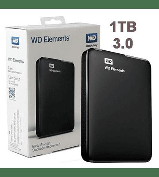 D.DURO EXT 1.0TB USB WD