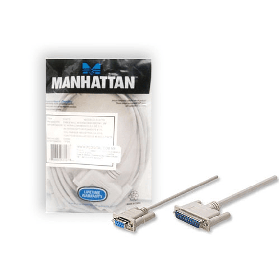 CABLE SERIAL DB9H / RS232 TWC