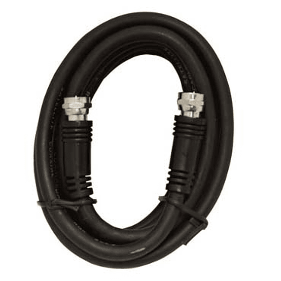 CABLE COAXIAL RG59 F 4.5MTS BK G.E.