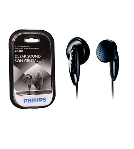 AUDIF PHILIPS SHE-1350 3.5MM