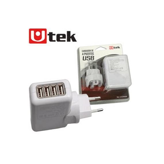 CARG USB UTEK 220V X 4 USB 2.1AMP
