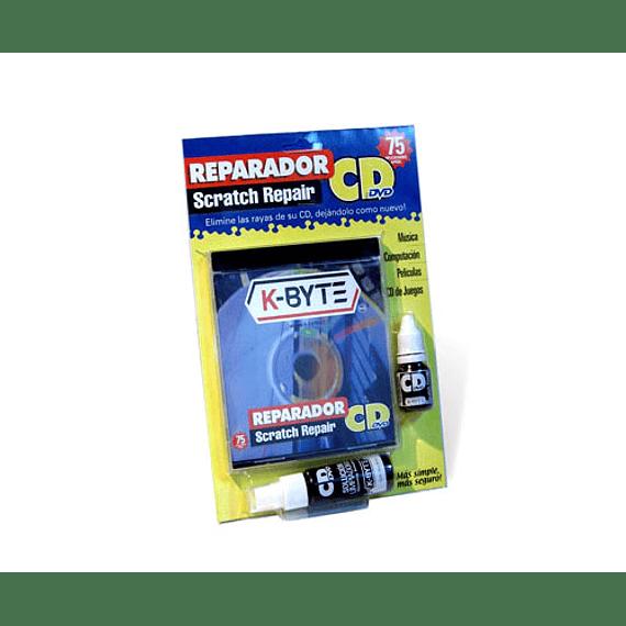 LIMP K-BYTE REPARADOR CD-DVD