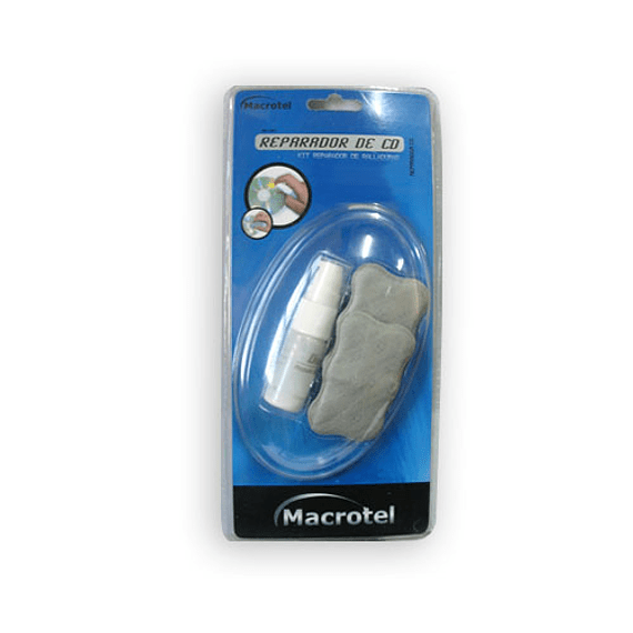 LIMP REPARADOR MACROTEL CD-DVD