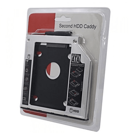 PORTA HDD 2.5 SATA CADDY TWC 9.5MM