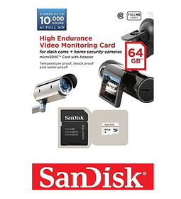MEM MICRO SD GB64 SANDISK ENDURANCE