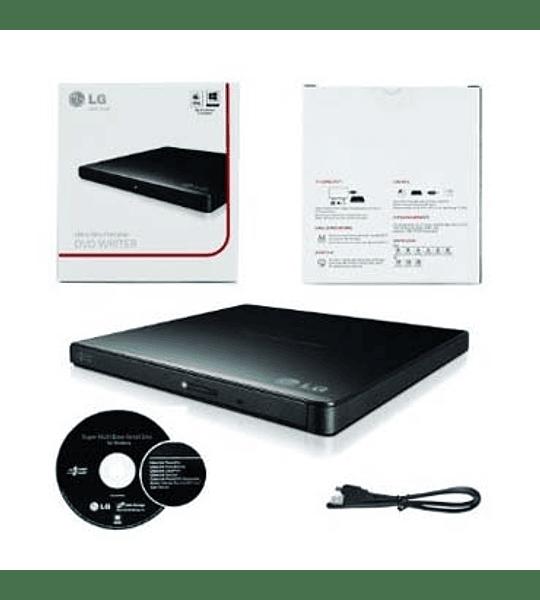 GRAB DVD EXT LG SLIM USB GP65 BLACK