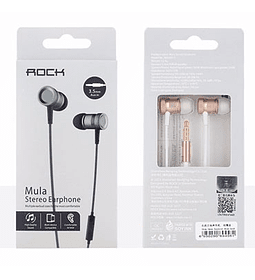 AUDIF MIC ROCK MULA ROSE GOLD