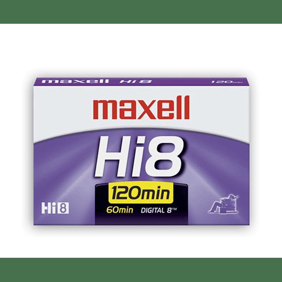 CINTA VIDEO 8MM HI-8 MAXELL 120XR