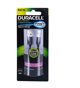 CABLE USB A/C 90 CMS DURACELL