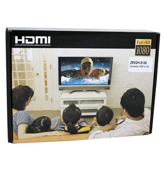 CABLE MON VGA/HDMI CON AUDIO 8126