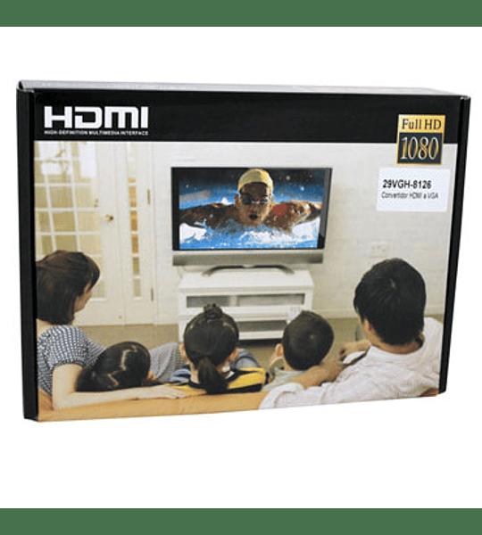 CABLE MON VGA/HDMI CON AUDIO 8126