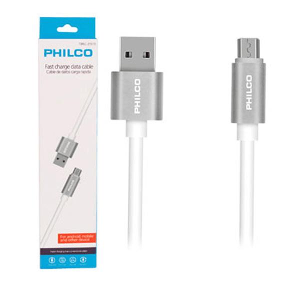 CABLE USB MICRO 1.0MT PHILCO 21519