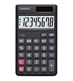 CALCULADORA CASIO 8 DIGS SL-300LV-W
