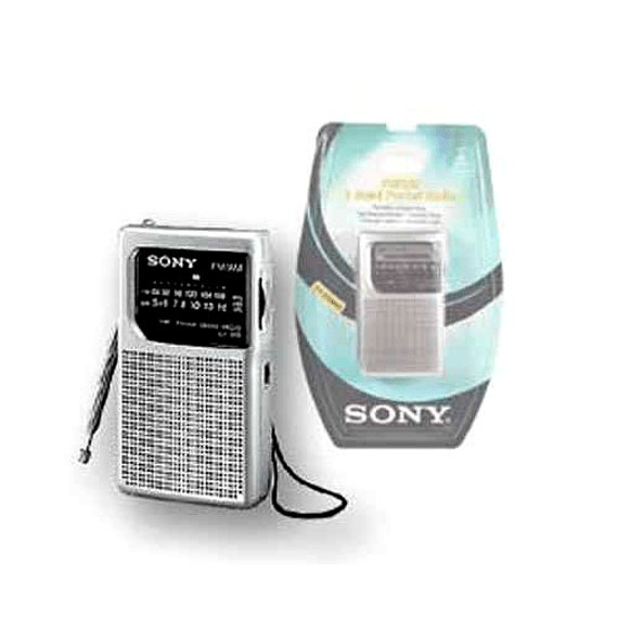 RADIO SONY PORTATIL AM/FM