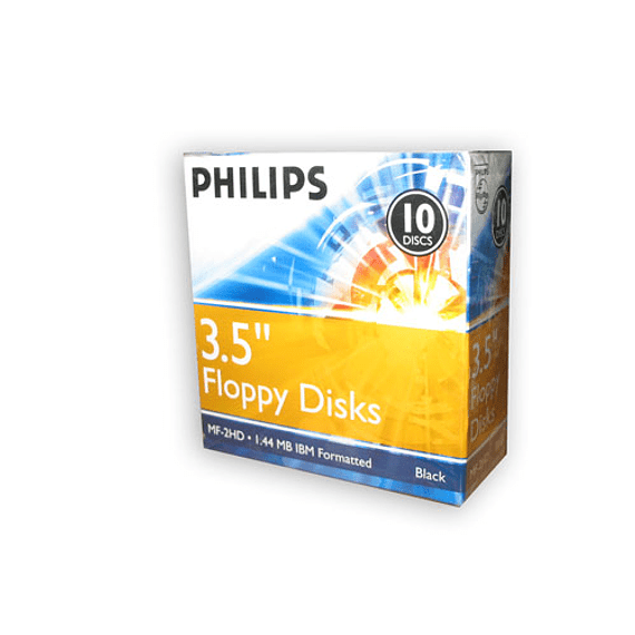 DISQUETTES 1.44 MB PHILIPS