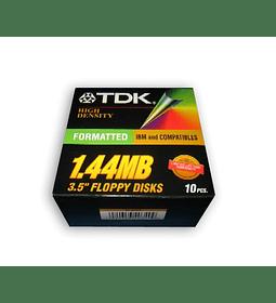 DISQUETTES 1.44 MB TDK