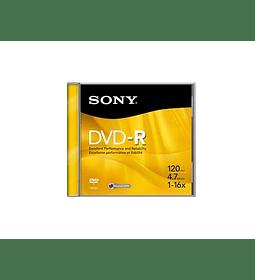 DVDV SONY -R 16X 4.7 JEWEL UNIT MG