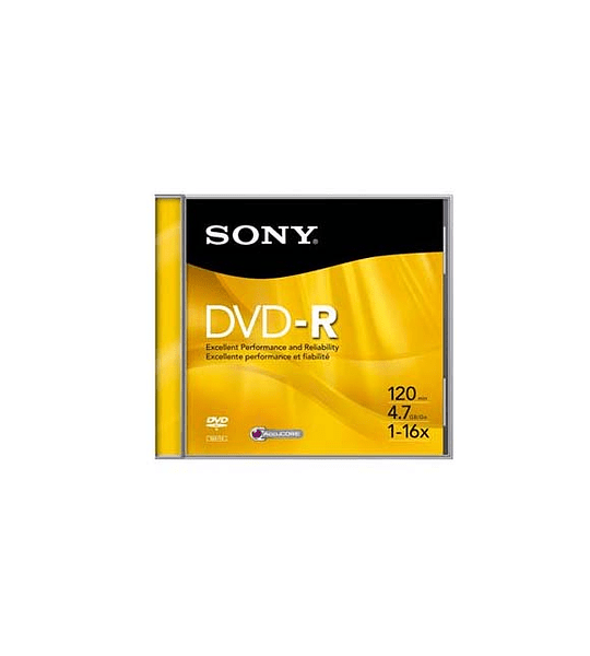 DVDV SONY -R 16X 4.7 JEWEL UNIT MG