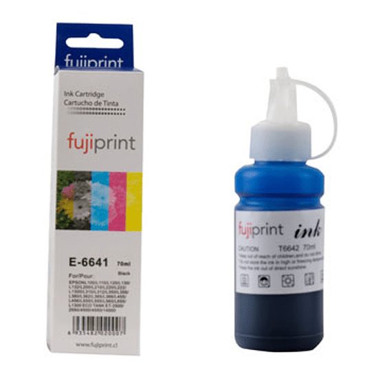TINTA ALT. EPSON T664 70ML BLACK