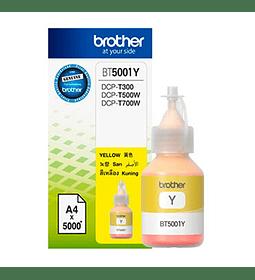 TINTA BROTHER BT5001Y YELLOW BOTTL