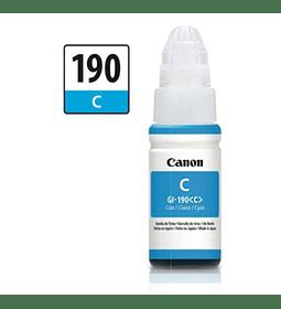 TINTA CANON GI-190 CYAN 70ML BOTT