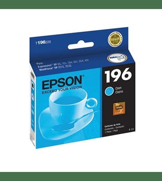TINTA EPSON T196220 CYAN XP401