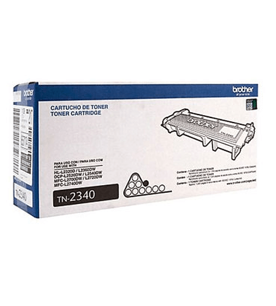 TONER BROTHER TN-2340 BLACK